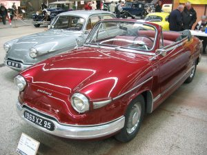 Panhard 17 cabriolet