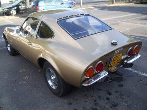 Opel GT vue de l'arriere