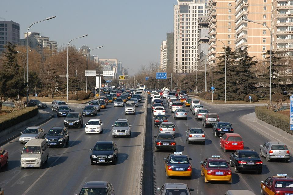 Taxis dans la circulation